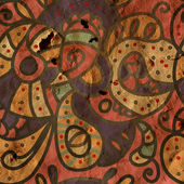 Paisley seamless pattern for silk — Stock Photo