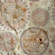 Stock Photo: Ornamental seamless circle pattern vintage texture