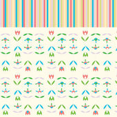 Holidays abstract floral background cute — Vetorial Stock