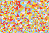 Mosaic triangle seamless pattern bright — Stock Vector