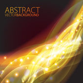 Futuristic abstract glowing background. — Stock Vector