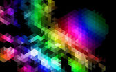 Abstracte geometrische achtergrondontwerp. — Stockvector