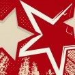 tło grunge z gwiazd — Wektor stockowy