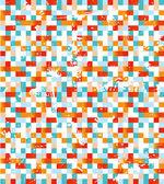 Mosaico abstrato — Vetorial Stock