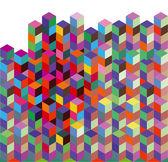 абстрактный интенсивные цвета — Cтоковый вектор