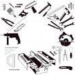 Royalty-Free Stock Imagen vectorial: Hand Tools