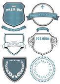 Set of Premium Quality Symbol — Stock Vector