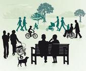 Generations — 图库矢量图片
