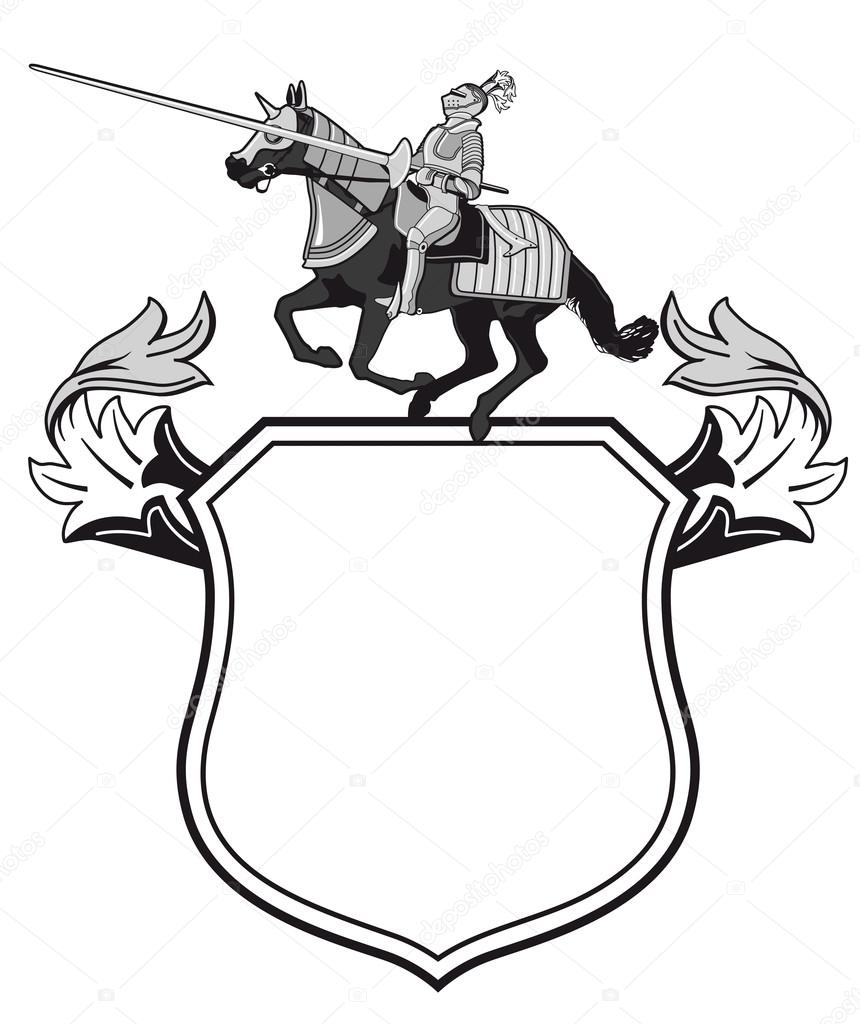 knights tournament crest stock vector  u00a9 scusi0 9 22612013 horse vector art free horse vector diseases