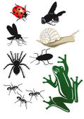 Creepy Crawlies — Stock Vector