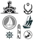 Maritime mark — Stock Vector