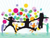Colourful Children's Festival — Stock Vector