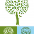 Stylized tree — Stock Vector #28058383