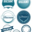 Discount button — Stock Vector