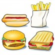 Fast Food — Stock Vector #29779349