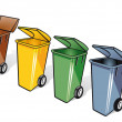 Trash bin — Vector de stock #31928731