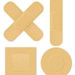 Adhesive bandage — Stock Vector #32467791