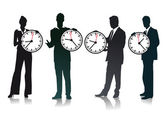 Take time — Stock Vector