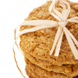 Stock Photo: Homemade Oatmeal Cookies