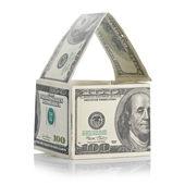 House of dollars — Stock Photo