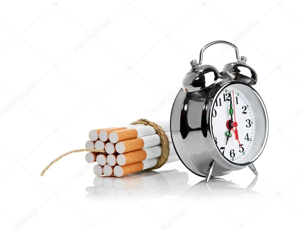 Stop smoking concept isolated on a white — Stock Photo #12891135