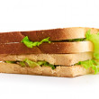 Fresh sandwich — Stockfoto #13372811