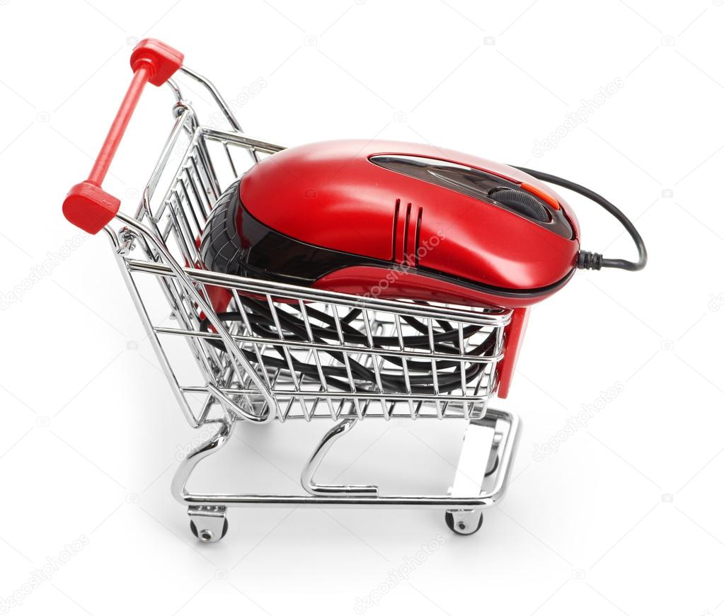Online Internet Shopping.  Stock Photo #13711785