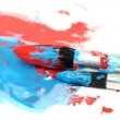 Stock Photo: Brush and paint scratch