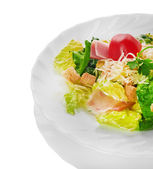 Caesar Salad isolated on a white background — Stock Photo
