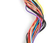 Cavo computer multicolore — Foto Stock