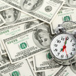 Stock Photo: Time - money. Business concept