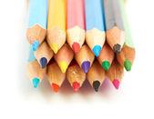 Colored pencils macro — Stock Photo