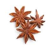 Star anise isolated on a white background — Stock Photo
