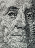 Macro do dólar — Foto Stock