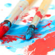 Brush and paint scratch — Stock Photo #22849270