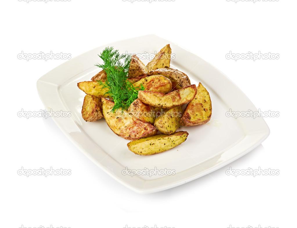 Картофель жареный брусочками, или дольками, или