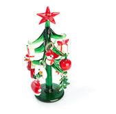 świąteczne dekoracje na białym tle na białym tle — Zdjęcie stockowe