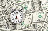 Tiempo - dinero. concepto del negocio — Foto de Stock