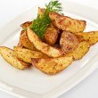 Fried potato wedges — Stock Photo #29690059
