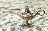 Lámpara de Aladino — Foto de Stock