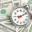 Time - money. Business concept — Stock Photo