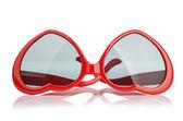 Solglasögon som ett hjärta — Stockfoto