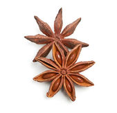 Two whole star anise — Stock Photo