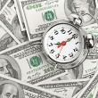 Time - money. — Foto Stock