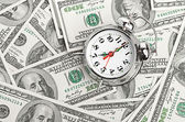 Time - money. — Stockfoto