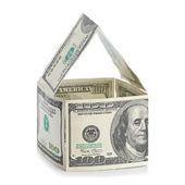 дом долларов — Стоковое фото