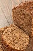 Rebanadas de pan integral — Foto de Stock