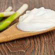 Sour cream — Stock Photo