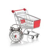 時計と時間の概念を購入 — ストック写真