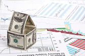 Huis van dollar — Stockfoto